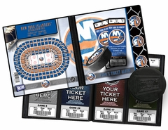 Personalized New York Islanders Ticket Album