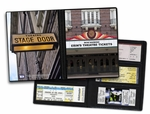 Personalized Theater Ticket Album