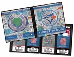 Personalized Toronto Blue Jays Ticket Album