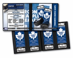 Personalized Toronto Maple Leafs Ticket Album