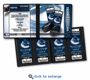 Personalized Vancouver Canucks Ticket Album