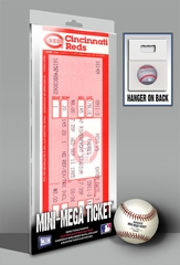 Pete Rose 4,192 Hit Mini-Mega Ticket - Cincinnati Reds