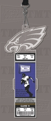 Philadelphia Eagles Engraved Ticket Holder
