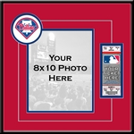 Philadelphia Phillies 8x10 Photo and Ticket Frame