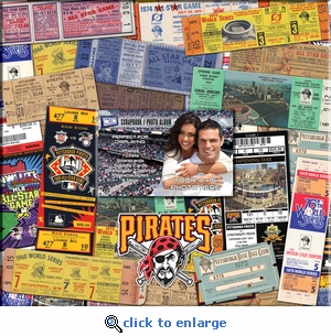 Pittsburgh Pirates 12 x 12 Scrapbook - Ticket & Photo Album