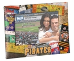 Pittsburgh Pirates Padded Front 4x6 Picture Frame - Ticket Collage Design