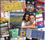 Pittsburgh Pirates 8 x 8 Scrapbook - Ticket & Photo Album