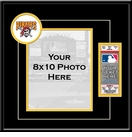 Pittsburgh Pirates 8x10 Photo and Ticket Frame