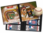 Pittsburgh Pirates Mascot Ticket Album - Captain Jolly Roger and Pirate Parrot