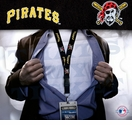 Pittsburgh Pirates MLB Lanyard Key Chain and Ticket Holder