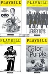 Playbill & Theater Ticket Displays