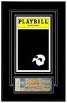 Playbill Ticket Frame