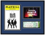 Playbill Ticket & Photo Frame