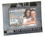 San Antonio Spurs Padded Front 4x6 Picture Frame
