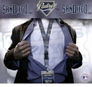 San Diego Padres MLB Lanyard Key Chain and Ticket Holder - Blue