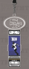 San Francisco 49ers Engraved Ticket Holder