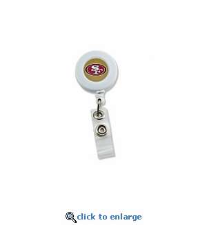 San Francisco 49ers Retractable Ticket Badge Holder