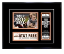 San Francisco Giants 4x6 Photo and Ticket Frame