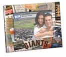 San Francisco Giants 4x6 Picture Frame - Ticket Collage Design
