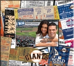 San Francisco Giants 8 x 8 Ticket & Photo Album Scrapbook