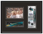 San Jose Sharks 4x6 Photo and Ticket Frame