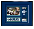Seattle Mariners 4x6 Photo and Ticket  Frame
