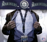 Seattle Mariners MLB Lanyard Key Chain and Ticket Holder