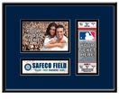 Seattle Mariners Personalized First Game Ticket Frame