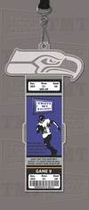 Seattle Seahawks Engraved Ticket Holder