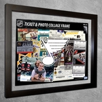 St Louis Blues Ticket & Photo Collage Frame