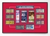 St Louis Cardinals 11-Time World Series Champions Tickets to History - Replica Ticket Frame