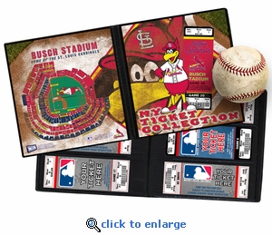 St Louis Cardinals Mascot Ticket Album - Fredbird