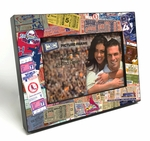 St Louis Cardinals Ticket Collage Wooden 4x6 inch Picture Frame
