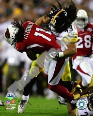 Super Bowl 43 Pittsburgh Steelers Troy Polamalu 8x10 Photo