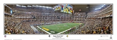 Super Bowl XLV (45) Panoramic Photo - Green Bay Packers