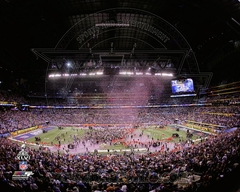 Super Bowl XLVI (46) Lucas Oil Stadium Celebration 8 x10 Photo - New York Giants