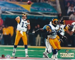 Super Bowl XXXIV Kurt Warner - St. Louis Rams