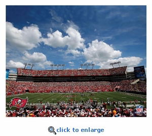 Tampa Bay Buccaneers Stadium 22X28 Canvas Art