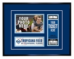Tampa Bay Rays 4x6 Photo and Ticket Frame