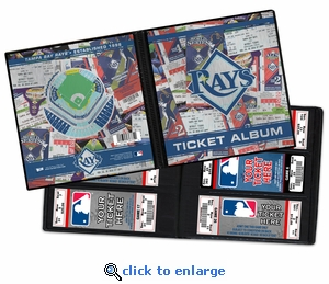 Tampa Bay Rays Ticket Album