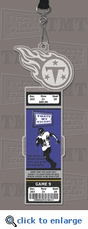 Tennessee Titans Engraved Ticket Holder