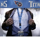Tennessee Titans NFL Lanyard Key Chain and Ticket Holder