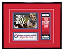 Texas Rangers 4x6 Photo and Ticket Frame