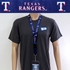 Texas Rangers MLB Lanyard Key Chain and Ticket Holder - Blue