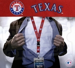 Texas Rangers MLB Lanyard Key Chain and Ticket Holder - Red