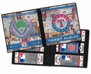Texas Rangers Ticket Album