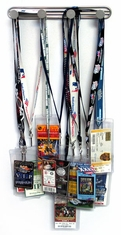 Ticket Lanyard Rack - 4 Pegs
