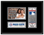 Toronto Blue Jays 4x6 Photo and Ticket Frame