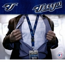 Toronto Blue Jays MLB Lanyard Key Chain and Ticket Holder