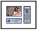 Toronto Maple Leafs 4x6 Photo and Ticket Frame